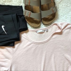 NWT Athleta Blush Top
